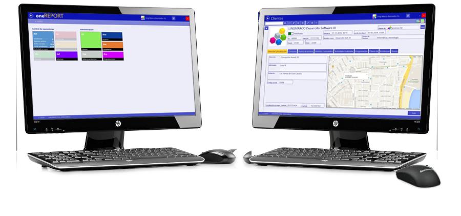 oneREPORT Gestión de informes de servicio