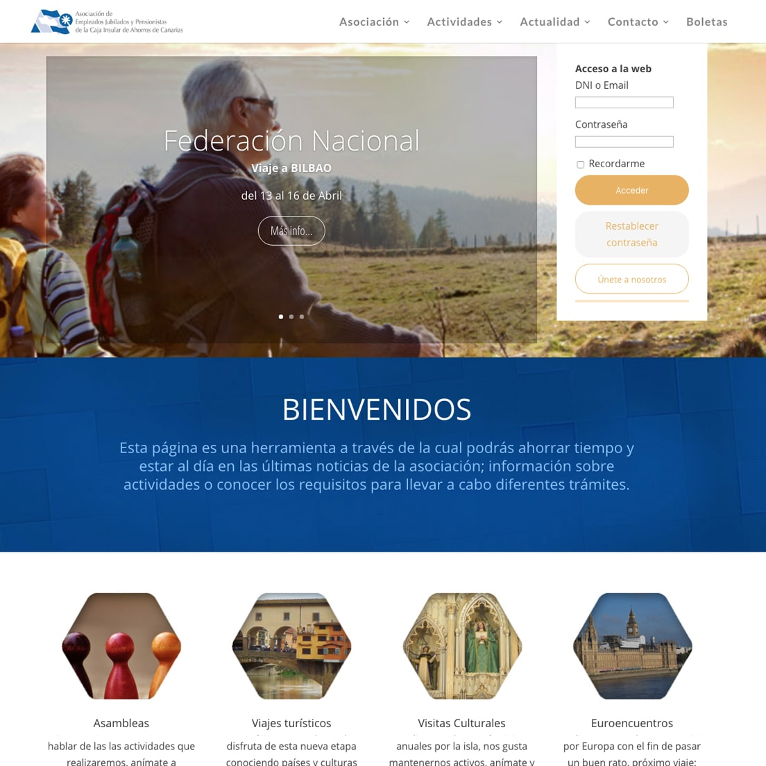 Asociación de Jubilados de La Caja de Canarias
