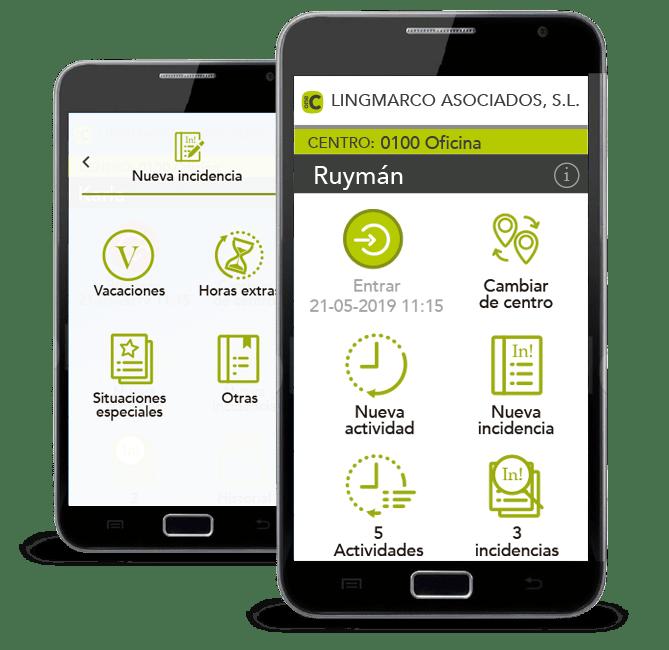 oneCOP App para el control de horario de tus trabajadores